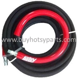 6000 PSI Hotsy Pressure Washer Hose 25 Ft, 8.925-181.0