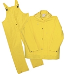 8.704-666.0 Extra Large Safety Yellow Rain Gear Set
