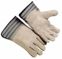 8.704-668.0 Heavy Duty General Purpose Split Cowhide Leather Work Gloves