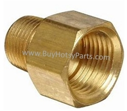 1/2 F x 3/8 M Brass Reducing Adapter 8.705-191.0