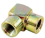"1/4"" FPT x 3/8"" FPT Steel Reducing Elbow 8.705-394.0"