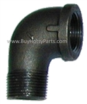 "1"" Black Pipe Street Elbow 8.706-183.0"