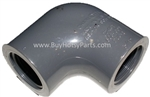 "1/2"" FPT Schedule 80 PVC Elbow 8.706-370.0"