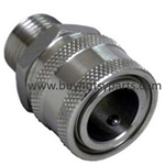 8.707-110.0 Stainless Steel 1/4 M Quick Coupling