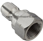 "1/4"" FPT Stainless Steel Quick Coupler Plug 8.707-138.0"