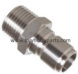 "1/4"" MPT Stainless Steel Quick Disconnect Nipple 8.707-140.0"