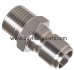 "3/8"" MPT Stainless Steel Quick Coupler Plug 8.707-152.0"