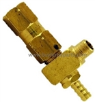 2500 PSI Pressure Relief Valve protects equipment and power washer operator from high pressure build up in coil system
