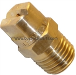 8.708-206.0 Brass Pressure Washer Detergent Nozzle 25 Degree Size 15.0