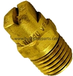 8.708-232.0 Brass Pressure Washer Detergent Nozzle 65 Degree Size 20.0