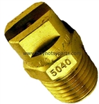 8.708-266.0 Brass Pressure Washer Detergent Nozzle 50 Degree Size 40.0