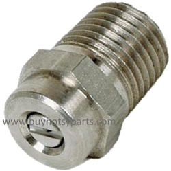1/4 MPT Pressure Washer Nozzle Size 4.5 Nozzle Orifice 15 Degree Spray Pattern 8.708-585.0
