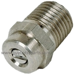 "8.708-597.0 Size 6.0 1/4"" Male Threaded Pressure Washer Nozzle, 15 Degree"