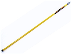8.709-307.0 Non-Adjustable fiberglass handle for brooms, brushes and utility tools, 60 inch length