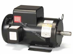 Baldor Electric Motor 3 HP 1725 RPM 115 / 230 Volt Single Phase C-Face 8.709-723.0