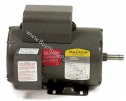 Baldor Electric Motor 6 HP 1725 RPM 230 Volt Single Phase C-Face 8.709-733.0