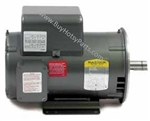 Baldor Electric Motor 5.0 HP 1725 RPM 230 Volt Single Phase Totally Enclosed Fan Cooled (TEFC) 8.709-784.0