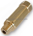 8.709-978.0 Inline High Pressure Brass Water Filter for use with rotating pressure washer nozzles, 5000 PSI