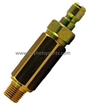 8.709-979.0 Inline high pressure brass water filter for protection of rotating power washer nozzles, 5000 PSI