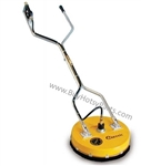 8.710-073.0 Yellow Classic Rotary Flat Surface Cleaner for concrete, driveways and parking lots, 19 inch cleaning path