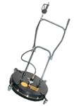 8.710-076.0 Ground Force Flat Surface Cleaner with rotating nozzle spray bar, 24 inch cleaning path