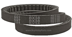 BX38 Cogged V-Belt <br />8.710-745.0