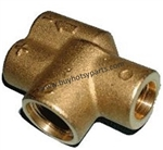 Replacement Brass body for Hotsy Dual Lance Wands 8.711-316.0