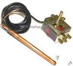Hotsy Adjustable Thermostat with 2 meter electrical wire lead 8.712-195.0