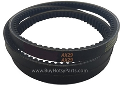 AX29 Super Gripnotch V-Belt 8.715-672.0