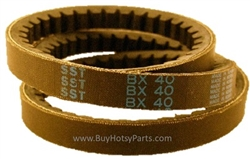 BX40 Cogged V-Belt 8.715-701.0
