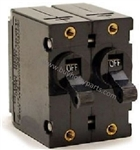 8.716-068.0 Carling EA3-XO-07-298-12A-DB Double Pole Circuit Breaker Switch, 230 Volt, 3 Phase for older Hotsy 1420 hot water pressure washers