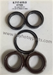 Hotsy Pressure Washer Pump 20mm V Seal Kit 8.717-619.0 Replaces 877686
