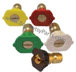 8.726-130.0 Size 4.5 Legacy Quick Connect Pressure Washer Nozzle Kit 5-Pack