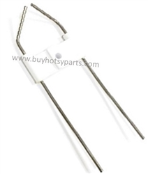 8.751-342.0 Hotsy Crossfire Burner DC Electrode Insulator Assembly for Hotsy and KNA Burner Systems