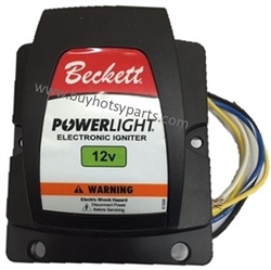 8.751-785.0 Beckett Powerlight 12 volt Electronic Oil Igniter, 5218303U, Replaces Beckett Models 21774, 51506U, 51779U and 517780