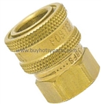 Foster 3/8 FPT Brass Quick Connect Socket 8.756-033.0