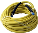 8.901-802.0 Animal Fat Resistant 75 Ft Yellow Non Marking Pressure Washer Hose