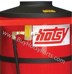 Hotsy Gas Engine Belt Drive Series Red Powder Coated Coil Tank Wrap 8.916-076.0