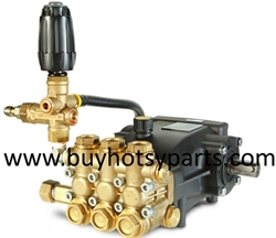 8.924-437.0 Hotsy HB3030R 3000 PSI Belt Drive Pump Assembly with Unloader
