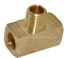 "1/2"" Brass Branch Tee 9.802-118.0"