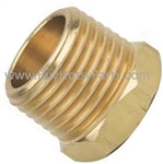 1/2M x 1/4F Brass Reducer Bushing 9.802-135.0