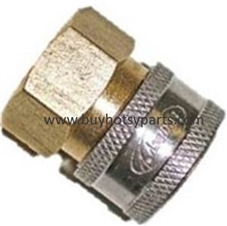 "1/4"" FPT Brass Quick Coupler 9.802-164.0"