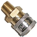 Brass 3/8 MPT Quick Coupler 9.802-169.0