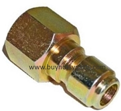 "Brass 3/8"" FPT Quick Connect Plug 9.802-170.0"
