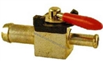 "9.802-177.0 Fuel Supply Shut Off Ball Valve 1/4"" barb x barb"