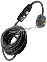 9.802-430.0 Hotsy GFCI Electrical Power Cord 230 Volt 30 Amp