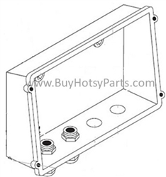 9.802-480. Hotsy Electrical Control Box Back