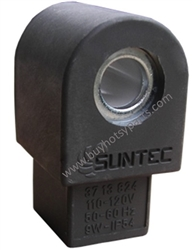9.802-640.0 Suntec 110 Volt Grey Fuel Solenoid Valve without cordset