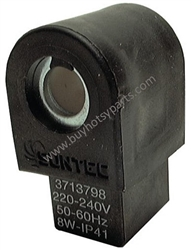 9.802-641.0 Suntec black 220 Volt Fuel Solenoid Shut Off Valve without Cordset