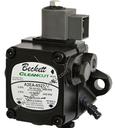 9.802-645.0 Beckett CleanCut Fuel Pump A2EA-6527 with 110 volt fuel solenoid shut off valve included